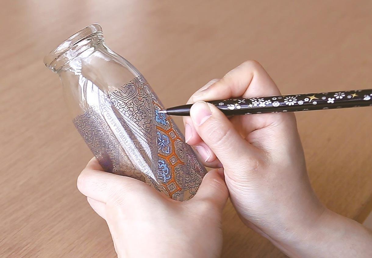 2/23(金) ガラス瓶コロリアージュのワークショップ