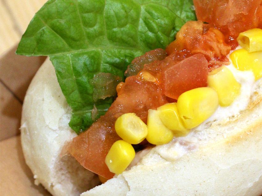 <期間限定>ツナサラダのホットサンド|STORY CAFE