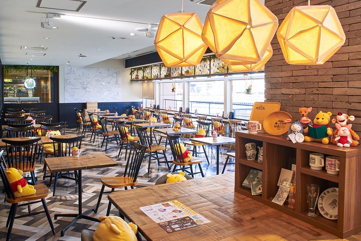 プーさんカフェの詳細